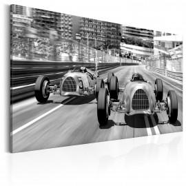 Tableau - Anciennes voitures de course
