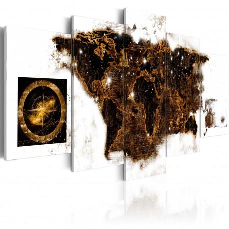Tableau  Brown map