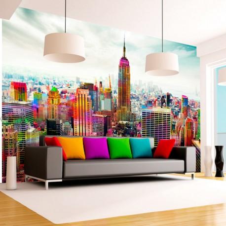 Papier peint  Colors of New York City