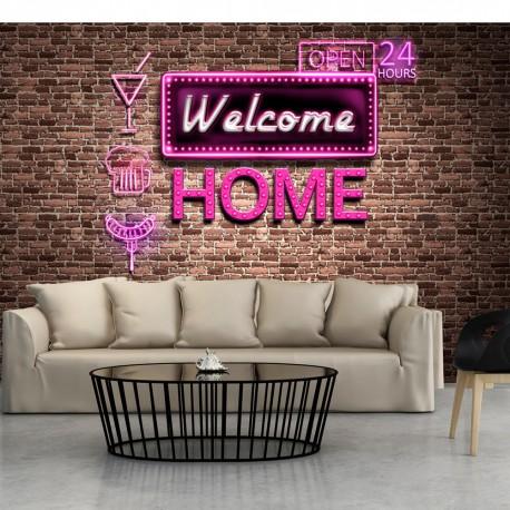 Papier peint  Welcome home