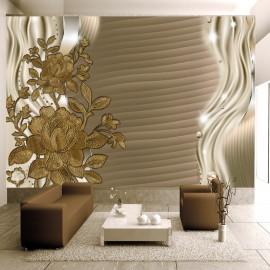 Papier peint - Golden buds