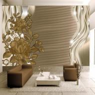Papier peint  Golden buds