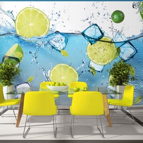 Papier peint  Refreshing lemonade