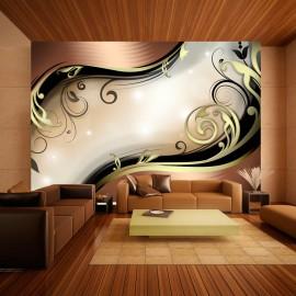 Papier peint - Golden glow