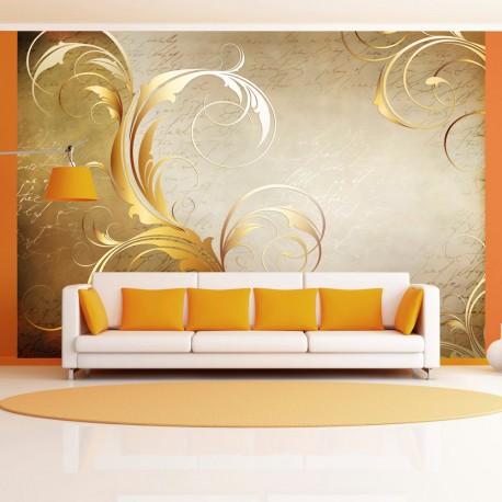 Papier peint  Gold leaf