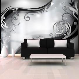 Papier peint - Grey wall
