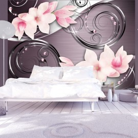 Papier peint - Imagination rose