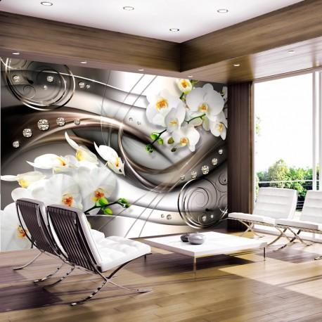 Papier peint  Breeze and orchid