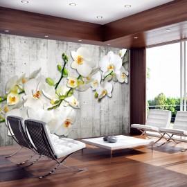 Papier peint - With saffron accent