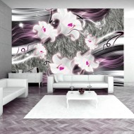 Papier peint  Dance of charmed  lilies