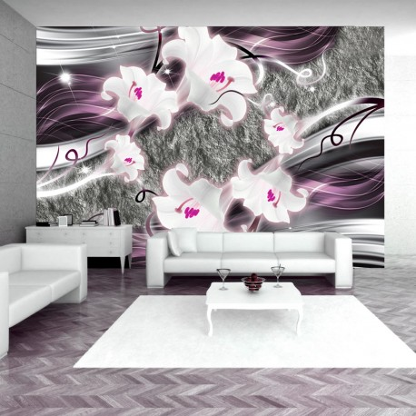 Papier peint  Dance of charmed  lilies