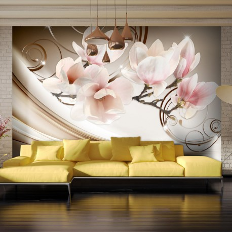 Papier peint  Waves of Magnolia