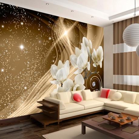Papier peint  Golden Milky Way