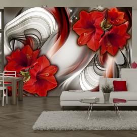 Papier peint - Amaryllis - Ballad of the Red