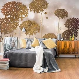 Papier peint - Golden Garden