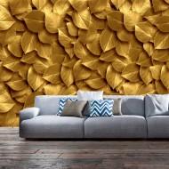 Papier peint  Golden Leaves