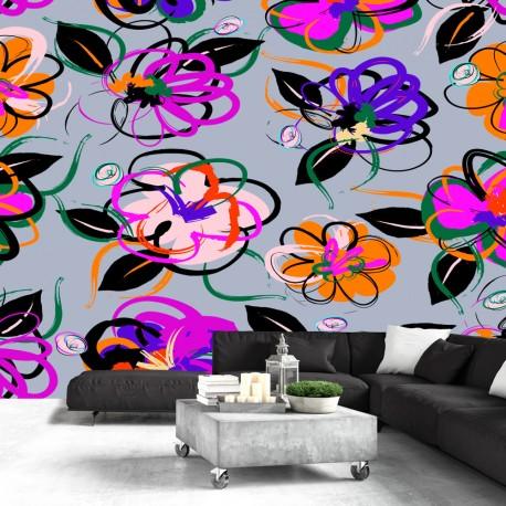 Papier peint  Flower Palace