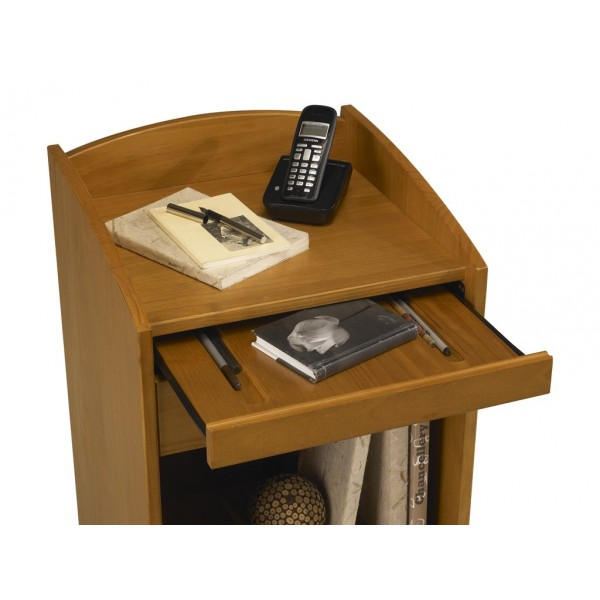 Meuble box meuble t l phone meuble d 39 entr e pin miel for Meuble telephone