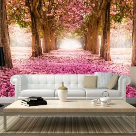 Papier peint - Pink grove