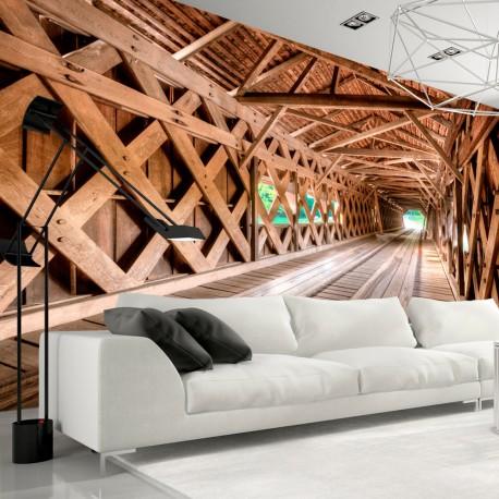 Papier peint  Wooden Bridge
